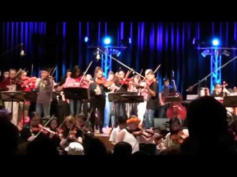 Liberty Bell Middle School Orchestra 2015 with Bridgid Bibbens