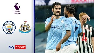 City souverän! Gündogan trifft | Manchester City - Newcastle 2:0 | Highlights - Premier League