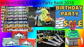 eclipseGRAFX Clippy Party Bash 2018 Loot