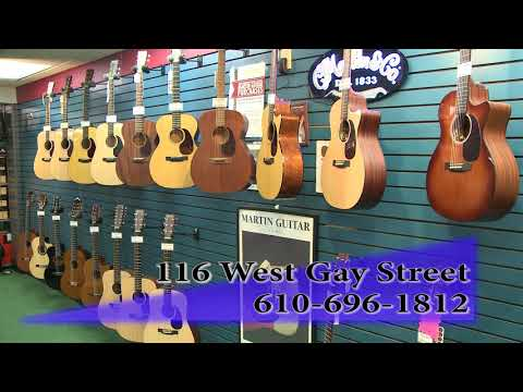 Welcome to Taylor's Music Store in West Chester, PA!