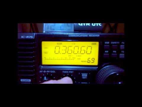 360 kHz JAC Radio farol /NDB - Jacareacanga PA - Brasil