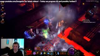 �������� ���� Diablo 3 Gameplay - Hardcore Death Compilation, Epic Reaction 2 ! ������