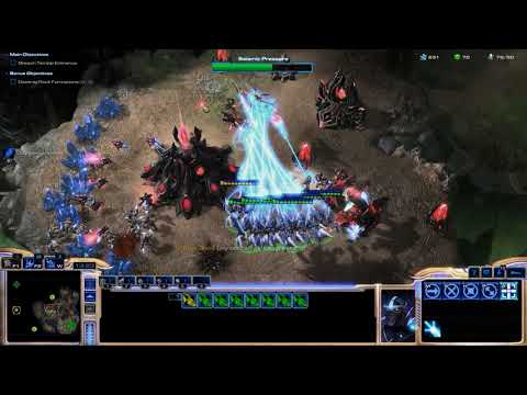 StarCraft II: Legacy of the Void Prologue Mission 2 - Ghosts in the Fog