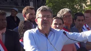 メランション「服従しないフランス」党首の演説 2017 07 03