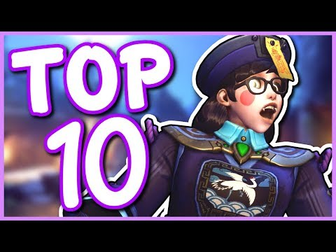 Overwatch - TOP 10 BEST HALLOWEEN SKINS