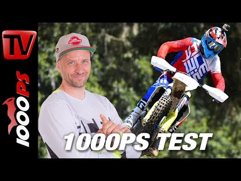 Motocross Test in der Elite-Schule - Husqvarna MX 2019