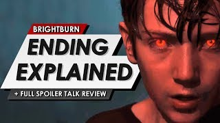 Brightburn: Ending Explained | Spoiler Talk Review On The New Evil Superman Movie