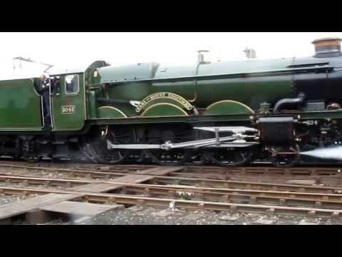 Tyseley Open Day  Cavalcade 4 Steam Locomotives in Convoy