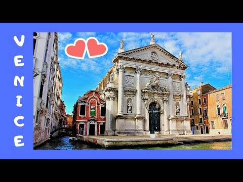 VENICE, the 1728 magnificent JESUIT Church of Santa Maria Assunta (ITALY)