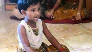 Smallest Indian Clasical Singer - Anjali Angad Gaikwadpatil