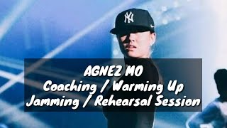 acapella ??? no mic ??? agnez mo coaching warming up jamming reherseal session