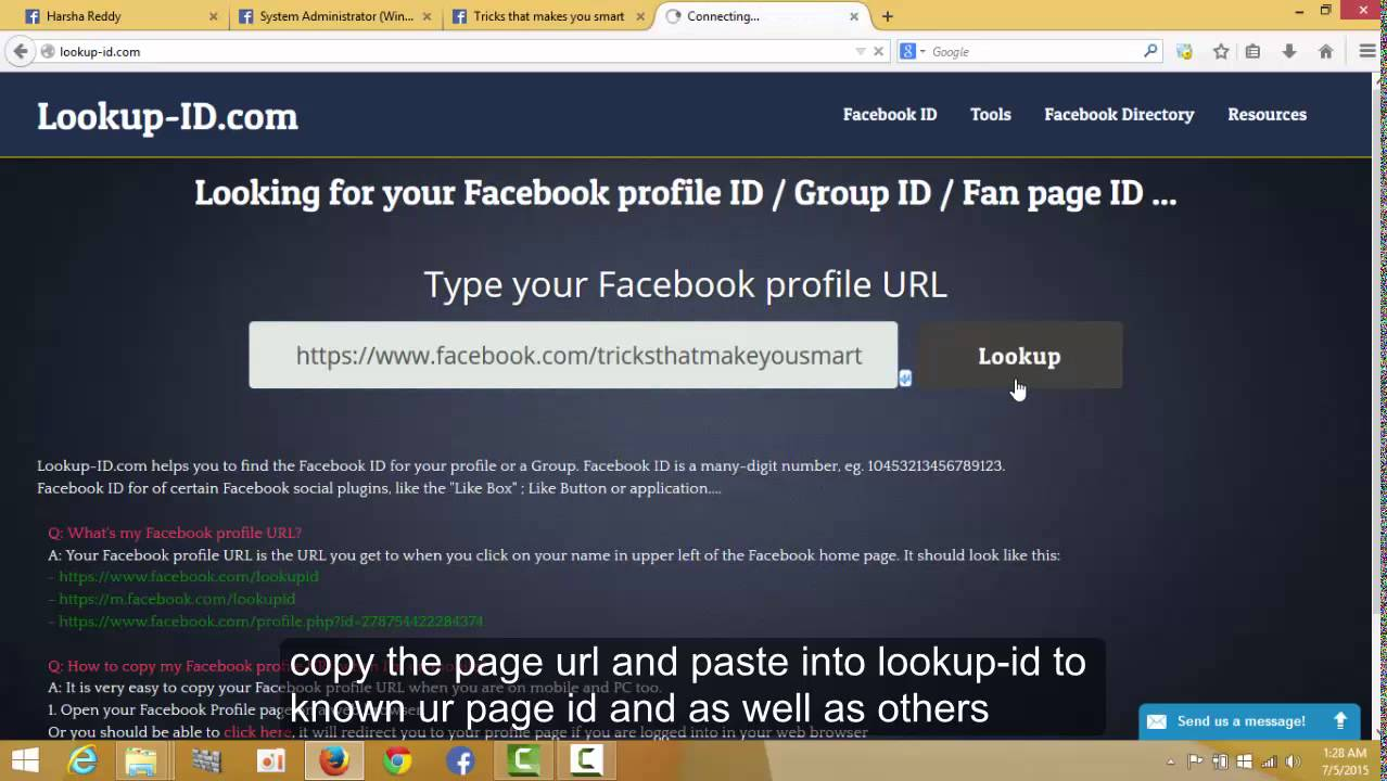 How TO Find my Facebook ID Profile ID | Find Facebook Group ID | Find  Facebook Group ID