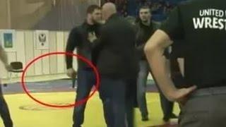 Вооруженные выходцы из Чечни подрались на ЧР по вольной борьбе