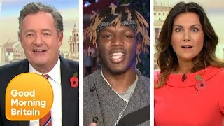 November's Most Talked About Moments Such as KSI and Piers Vs Ant Middleton | Good Morning Britain