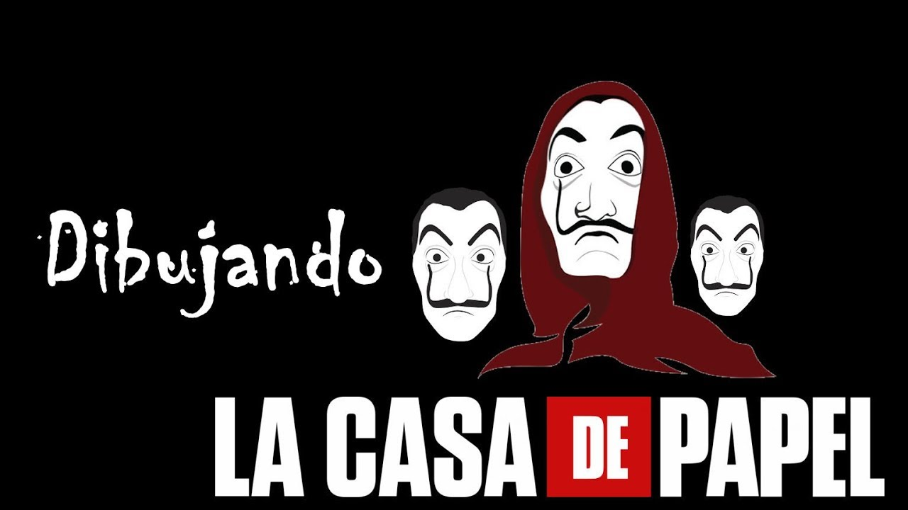 Dibujando La Casa De Papel Serie Speed Drawing Matias 94