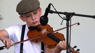 Asa Nelson - East Tennessee Blues (1st Place Youth Blgrs Fiddle - Ashe)