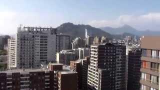 Сантьяго, Чили. Вид на город с крыши дома моего.(Вид на город с крыши дома моего. Сантьяго, Чили - Февраль 2015. Я приглашаю вас также просмотреть следующие..., 2015-02-27T23:26:56.000Z)