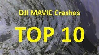 Top 10 DJI Mavic drone crashes November