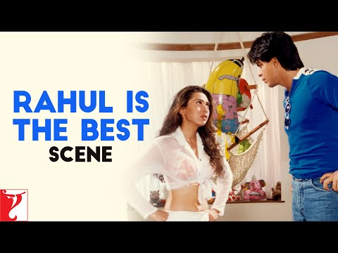 Scene: Dil To Pagal Hai | Rahul Is The Best | Shah Rukh Khan | Karisma Kapoor