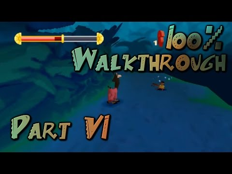 the-emperor's-new-groove-(ps1)-100%-walkthrough-part-6:-jungle-night-chapter-2