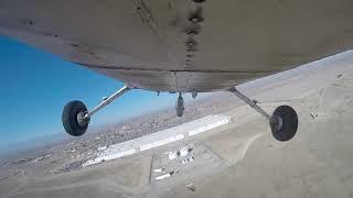 Guinness World Record Attempt - Longest Airplane Wheelie (distance) - at KVCV - 14 Feb 2020