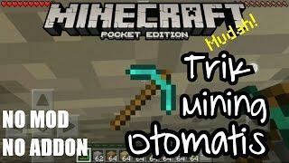 Minecraft PE: Trik Mining Otomatis   AFK Mining