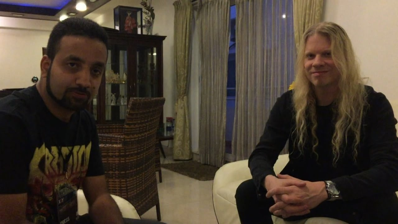 JEFF LOOMIS on Up ing Arch Enemy Solo Album Conquering