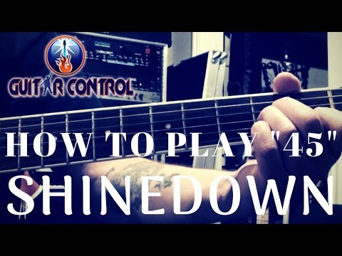How To Play 45 By Shinedown - Easy Acoustic Guitar Lesson For Beginners