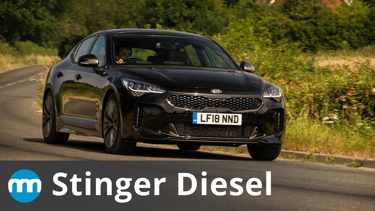 2019 kia stinger diesel review  diesel fun  new motoring