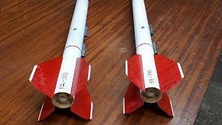 Как Сделать Ракету - Homemade Rocket
