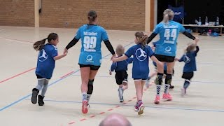 Joana ist Einlaufkind beim Handball Vlog#678 Rosislife