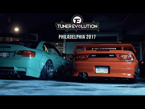 Tuner Evolution: Philadelphia 2017 | HALCYON (4K)