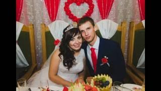 Свадебное оформление в красном и две зажигательные ведущие! Свадебный дом