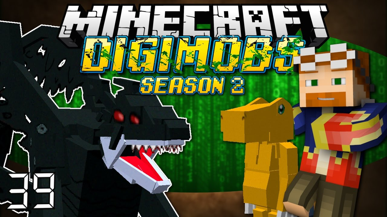 Minecraft: DIGIMOBS (SEASON 2) EP  39 - Fight Two Devils!