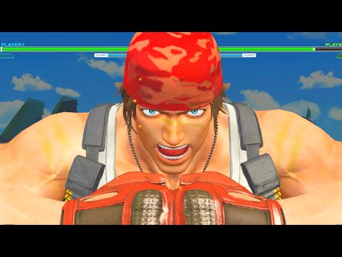 The King of Fighters XIV All Ralf Jones CLIMAX Special, MAX Super Moves & Super Moves
