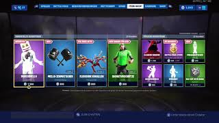Marshmallow skin is back 💙Fortnite shop. (27 July) from today come again active shop viedeos!