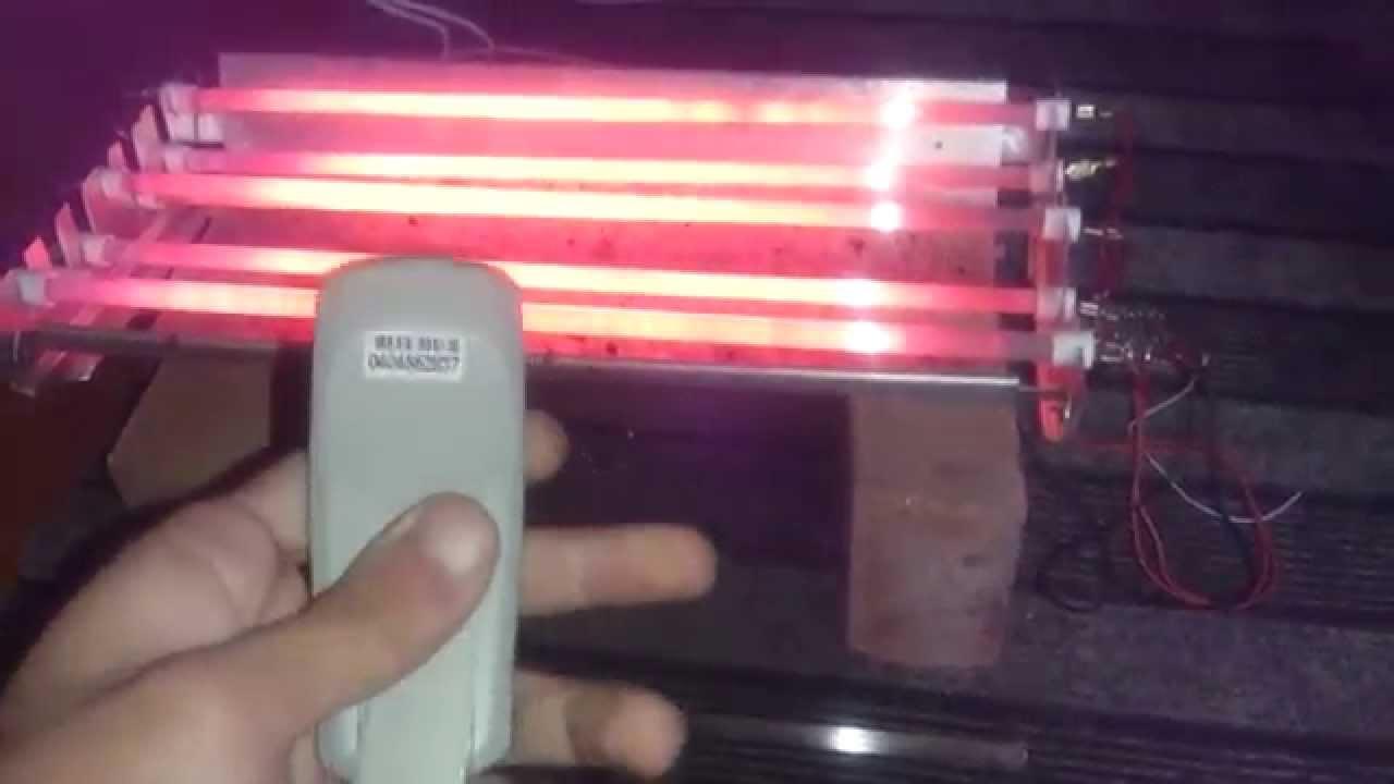 Как сделать инфракрасный обогреватель своими руками