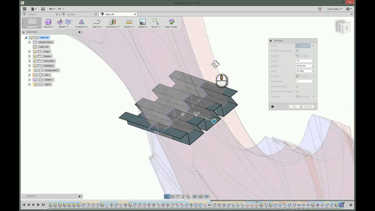 Dovetailed technologies llc - Slicing A Model With A Dovetail Joint In Fusion360 Immersedn3d Llc
