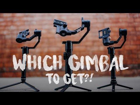 WHICH GIMBAL TO GET?! (Zhiyun Crane Plus vs Crane 2 vs Crane v2)
