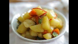 절대 부서지지않는 감자조림 맛있게 만들기~30년 노하우 감자조림황금레시피에요!
