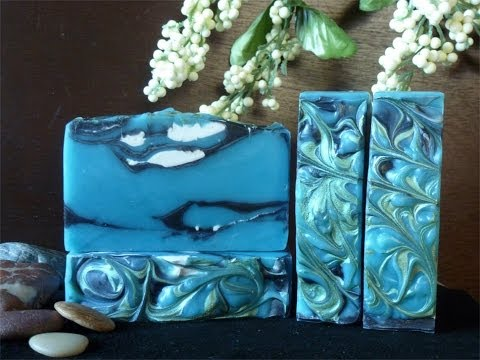 Making Cool Water Soap