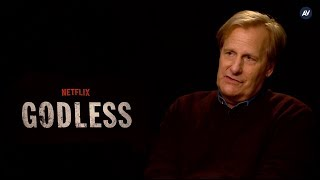 Jeff Daniels and the cast of Godless aren't sure why we romanticize the Old West