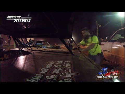 #00 Logan Moore - Super Pony - 3-17-18 Moulton Speedway - In Car Camera