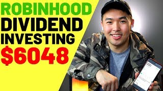 $6048 Dividend Investment Robinhood 2019 (Taking Profits Extra Income)