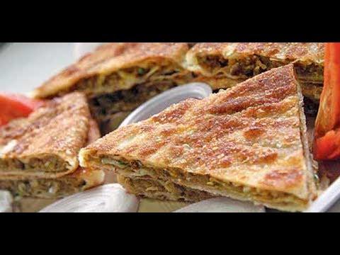 How To Make Chicken Mughlai Paratha Recipe In Hindi Street Food