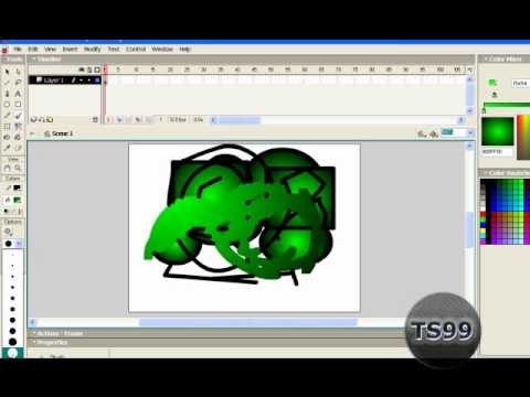 Macromedia Flash 8 - Basic animation tutorial (for beginners) from YouTube · Duration:  7 minutes 7 seconds