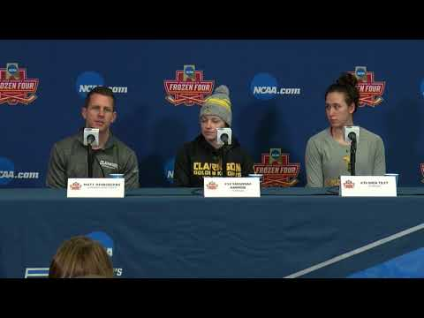 Clarkson Women's Hockey News Conference  March 15, 2018