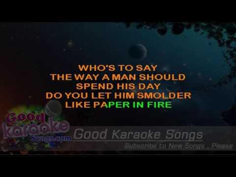 Paper in Fire -  John Mellencamp (Lyrics Karaoke) [ goodkaraokesongs.com ]