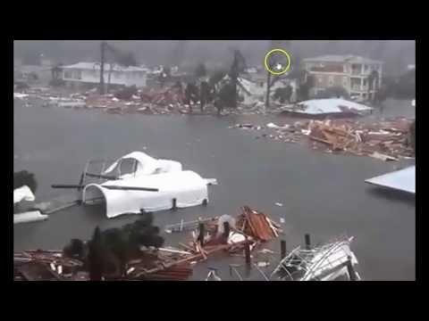 Hurricane Michael Hammers Panama City, Mexico Beach In Florida