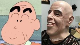 THE SHINCHAN CHARACTER IN REAL LIFE EXPOSED!!!!!!!!